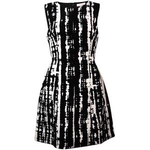WEDDING SEASON! Calvin Klein Velvet Jacquard Dress